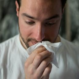 doenças auto-imunes e sintomas de alergia