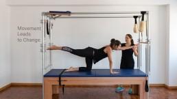 Mobilidade da coluna e prática de pilates